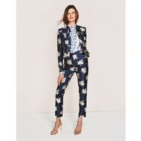 Mariana 7/8 Trousers Navy Women Boden, Navy