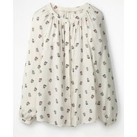 Paris Blouse Ivory Women Boden, Ivory