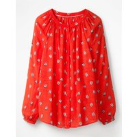 Paris Blouse Red Women Boden, Red