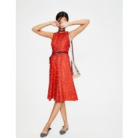 Leila Shirt Dress Red Women Boden, Red