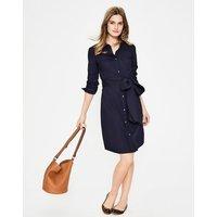 Modern Shirt Dress Navy Women Boden, Navy