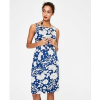 Paula Print Dress Blue Women Boden, Blue