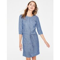 Katie Dress Blue Women Boden, Blue