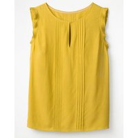 Boden Clara Top Yellow Women Boden, Yellow