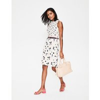 Martha Dress Ivory Women Boden, Ivory