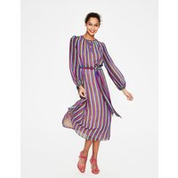 Kathleen Midi Dress Multi Women Boden, Multicouloured