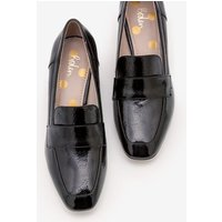 Alicia Heeled Loafers Black Women Boden, Black
