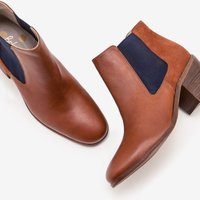 Clapton Ankle Boots Brown Women Boden, Tan