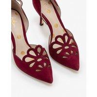 Eloise Mid Heels Purple Women Boden, Burgundy