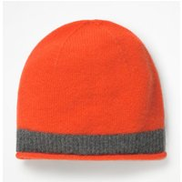 Cashmere Hat Orange Women Boden, Black