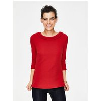 Sarah Ponte Top Red Women Boden, Red