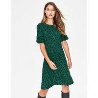 Alexis Jersey Dress Green Women Boden, Green
