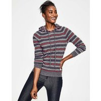Bella Cashmere Hoodie Multi Women Boden, Multicouloured