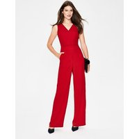 Hexham Jumpsuit Red Women Boden, Red