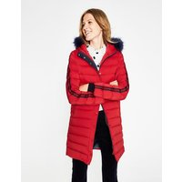 Brecon Puffer Coat Red Women Boden, Red
