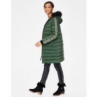 Brecon Puffer Coat Green Women Boden, Green