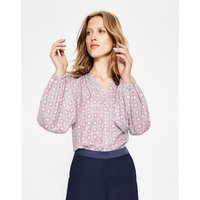 Harriet Blouse Grey Women Boden, Grey