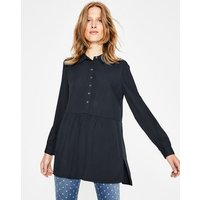Drop Hem Blouse Navy Women Boden, Navy