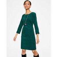 Amber Dress Green Women Boden, Navy