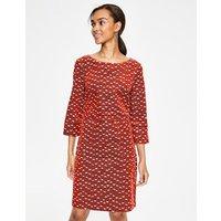 Amber Dress Red Women Boden, Brown