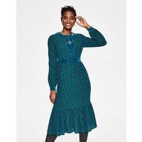 Annabelle Midi Dress Green Women Boden, Green