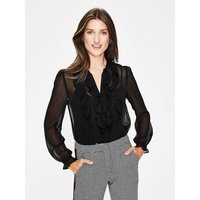 Amalie Blouse Black Women Boden, Black
