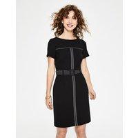 Anita Stitch Detail Dress Black Women Boden, Black