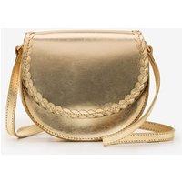 Lingfield Mini Saddle Bag Gold Women Boden, Gold