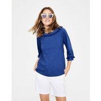 Rosemary Jersey Top Blue Women Boden, Blue