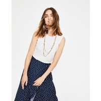 Favourite Knitted Tank Ivory Women Boden, Ivory