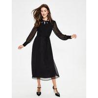 Alba Midi Dress Black Women Boden, Black