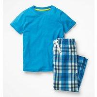 Pyjama Set Blue Boys Boden, Blue