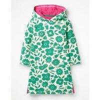 Fun Towelling Beach Dress Green Girls Boden, Green