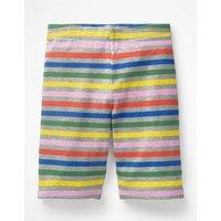 Jersey Knee Shorts Multi Girls Boden, Grey