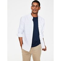 Oxford Patterned Shirt Multi Men Boden, Multicouloured