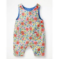 Heart Pocket Dungarees Multi Girls Boden, Multicouloured