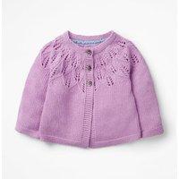 Cosy Cardigan Purple Baby Boden, Purple