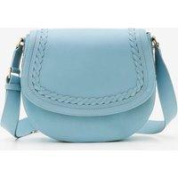 Lingfield Midi Saddle Bag Blue Women Boden, Blue