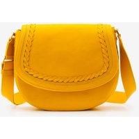 Lingfield Midi Saddle Bag Yellow Women Boden, Yellow