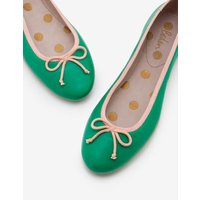 Ballerinas Green Women Boden, Green