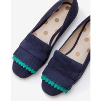 Melody Loafers Navy Women Boden, Navy