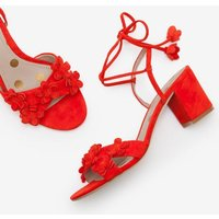 Flora Mid Heels Red Women Boden, Red