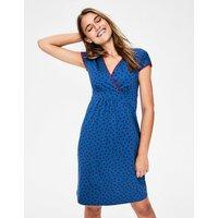Casual Jersey Dress Blue Women Boden, Red