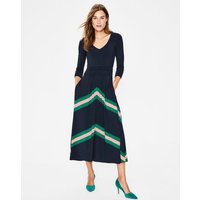 Juliet Jersey Midi Dress Navy Women Boden, Navy