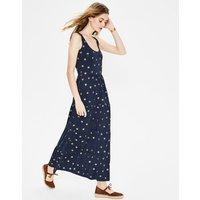 Maya Jersey Maxi Dress Blue Women Boden, Navy