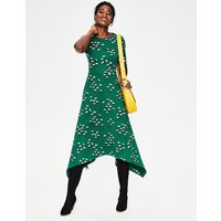 Leonie Ponte Midi Dress Green Women Boden, Green