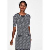 Ramona Knitted Dress Navy Women Boden, Navy