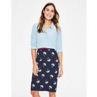 Modern Pencil Skirt Navy Women Boden, Blue