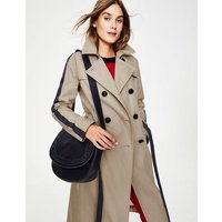 Whitstable Trench Coat Brown Women Boden, Brown