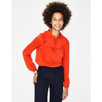 Betsy Top Red Women Boden, Red